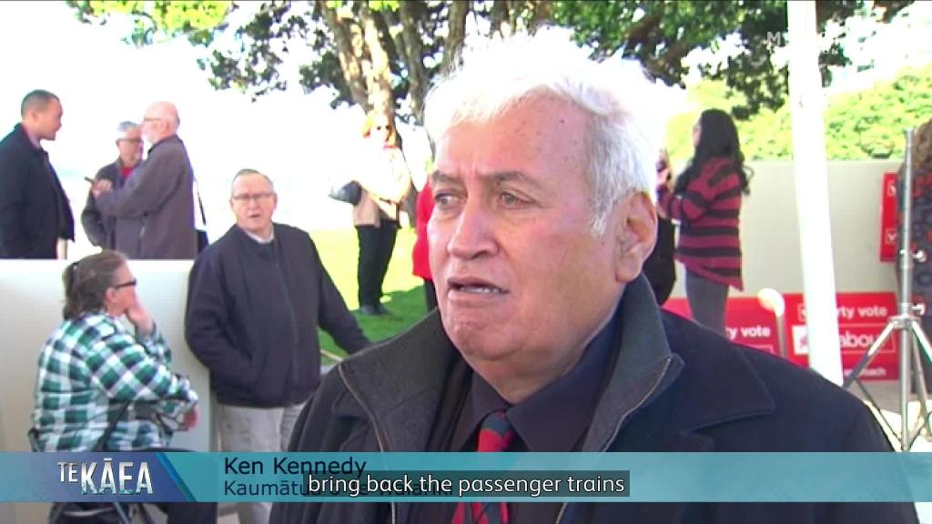Video for Waiariki voters urge Labour to follow through on regional transport policy