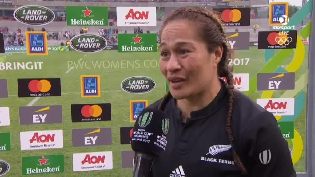Video for Woodman impresses in RWC Woman's semi-final