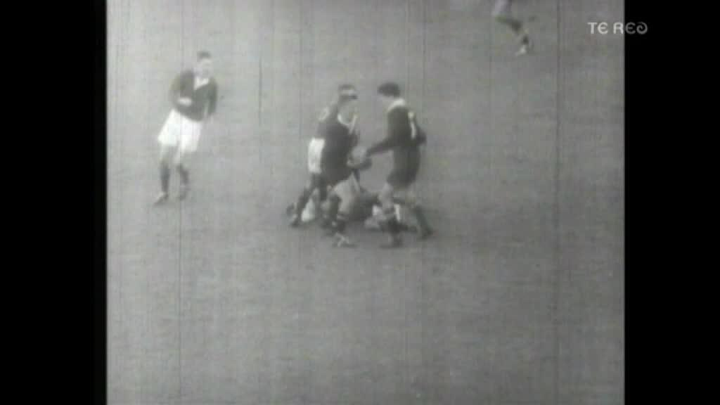 Video for Famous halfback Sid Going pays tribute to Sir Colin Meads