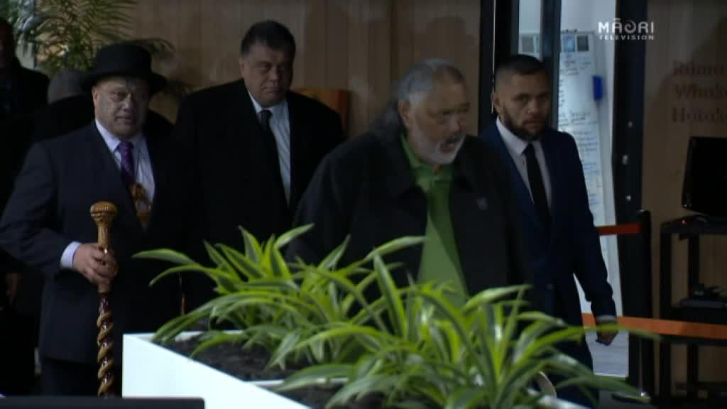 Video for Positive tone set at Māori Television new premises opening