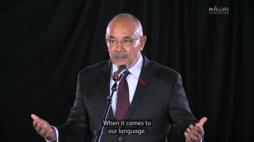 Video for Iwi leaders' insight on revitalisation of Māori language