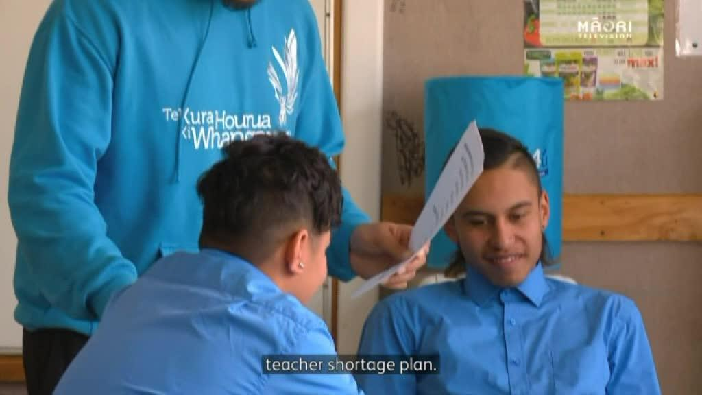 Video for Waka Toi Award recipient Tāwhiri Williams offers solution to Māori teacher shortage