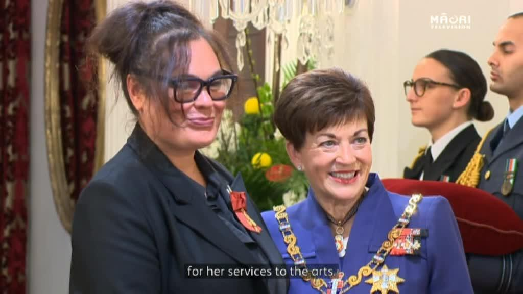 Video for Award-winning actress Rachel House receives NZ Order of Merit