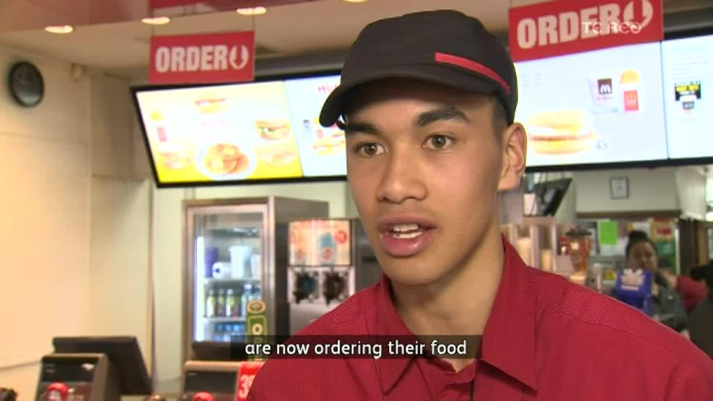 Video for Te reo Māori served up at McDonalds