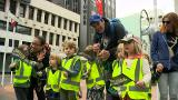 Video for Thousands brighten up the streets of Wellington to parade Te Reo Maori