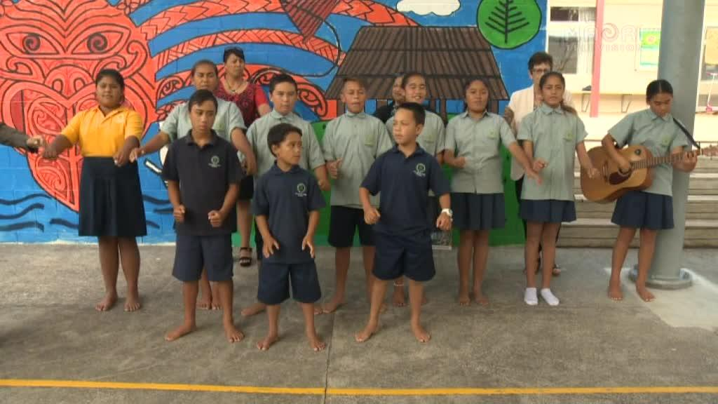 Video for Green Party see  bright future for te reo