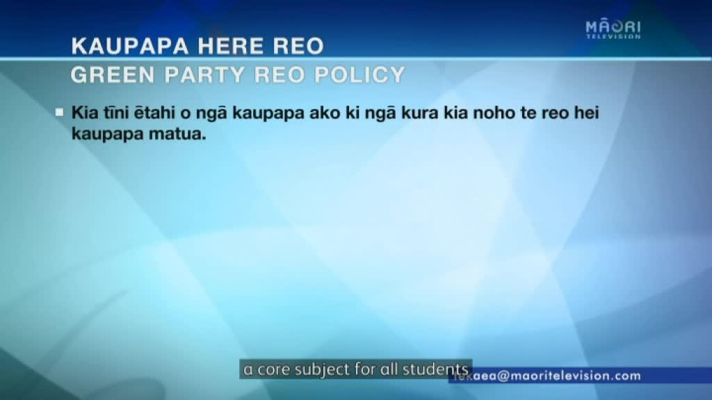 Video for Greens new policy reveals a vision for te reo to be compulsory in all schools by 2030