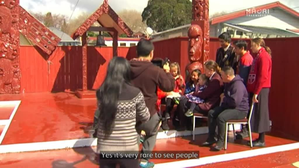 Video for Malaysian woman becomes immersed in Te Arawa reo