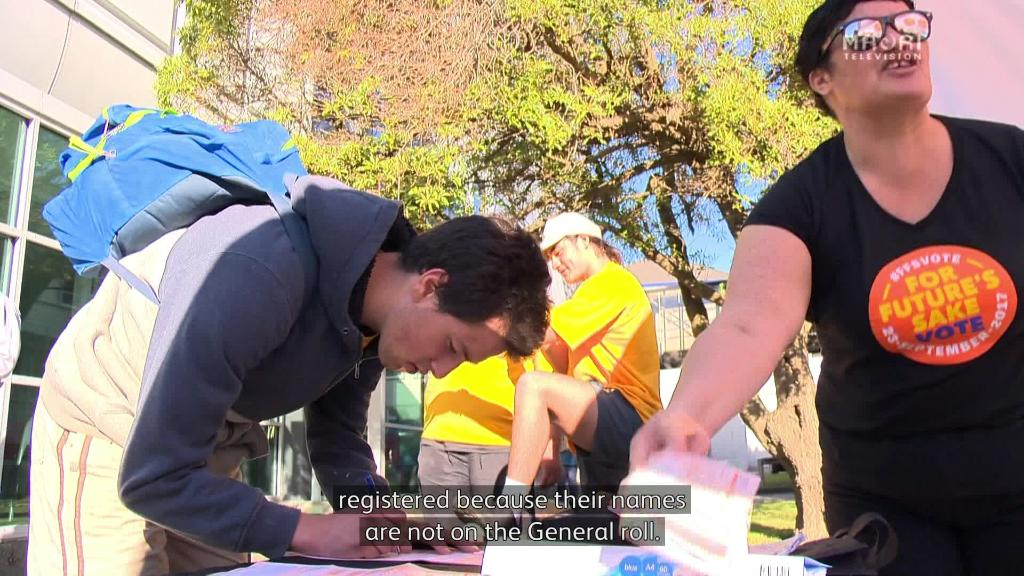 Video for Polling booth staff mislead and confuse Māori voters