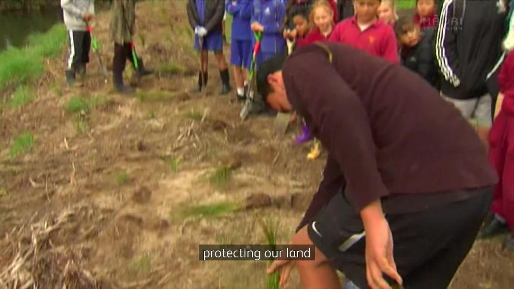Video for Tamariki tackle climate change