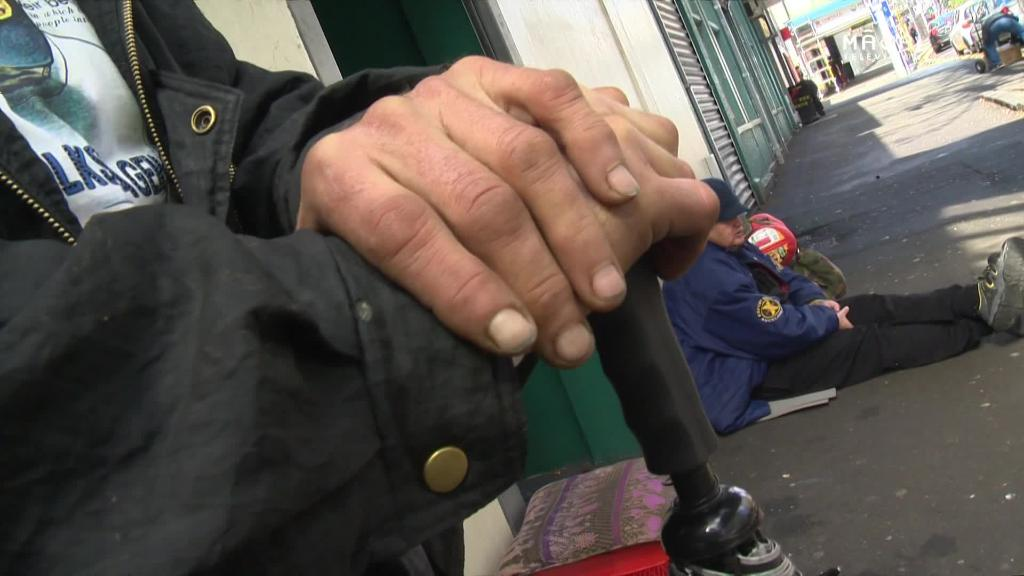 Video for Voting not a priority for homeless