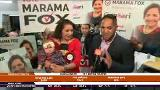 Video for Marama Fox in high spirits despite trailing in preliminary vote count