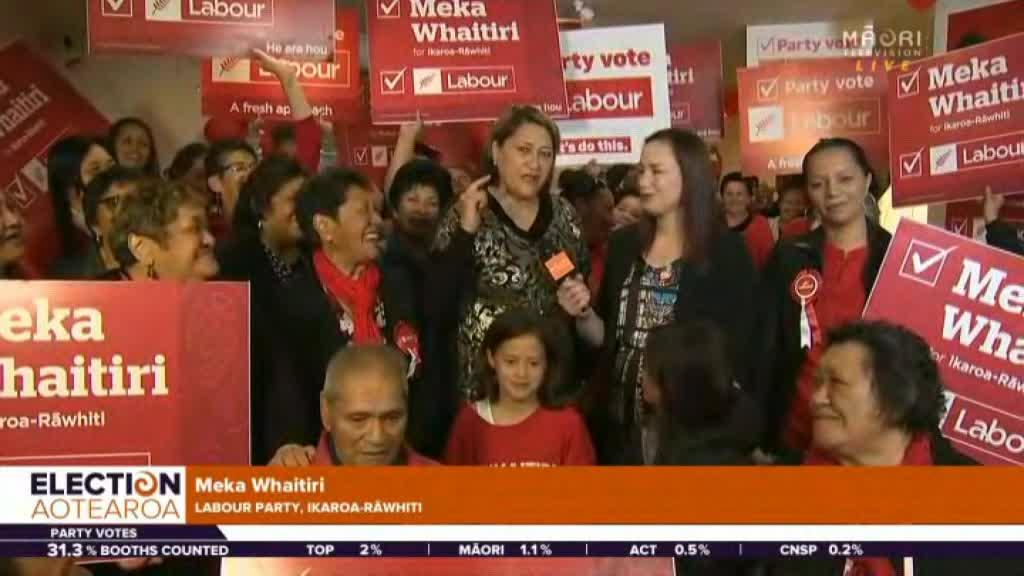Video for Meka Whaitiri leading the way in Ikaroa-Rāwhiti