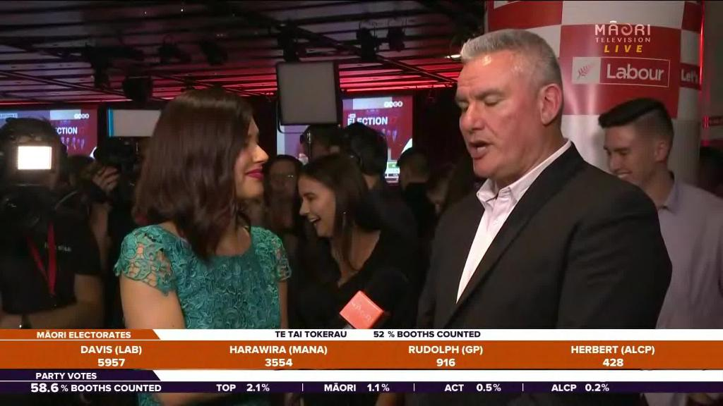 Video for Kelvin Davis holds strong lead in Te Tai Tokerau