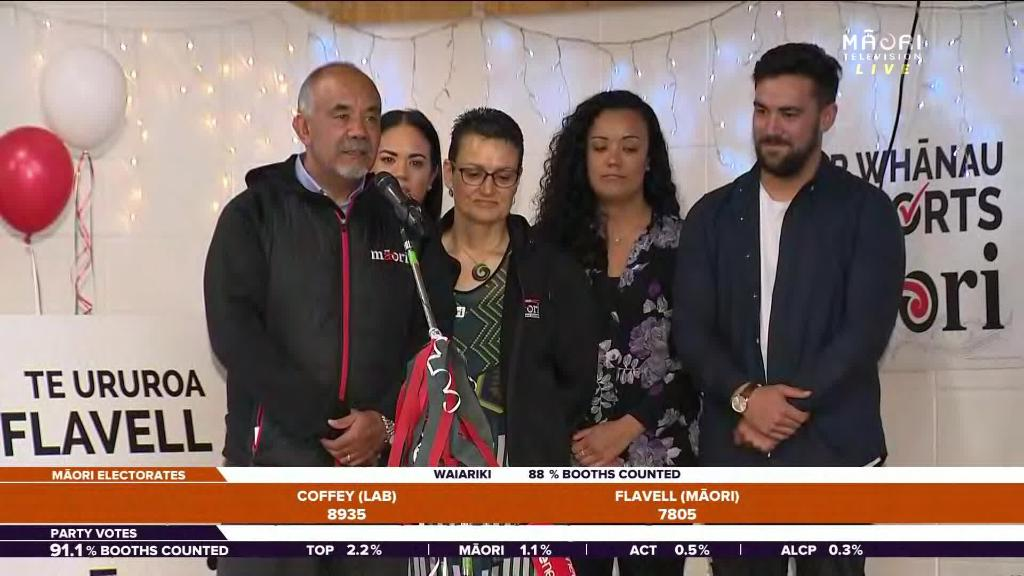Video for Te Ururoa Flavell concedes to Tamati Coffey