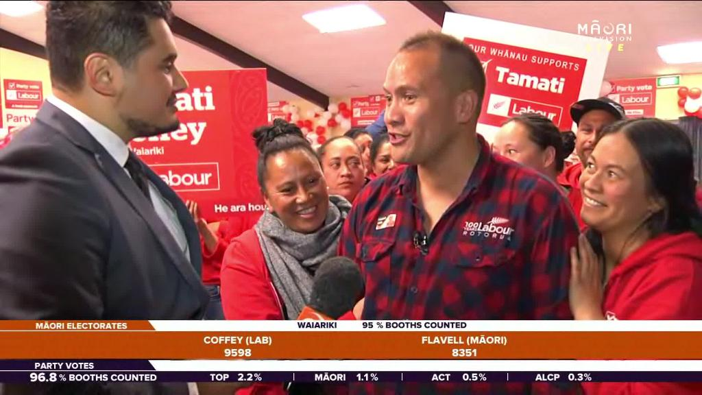 Video for Tamati Coffey set to represent Te Waiariki electorate