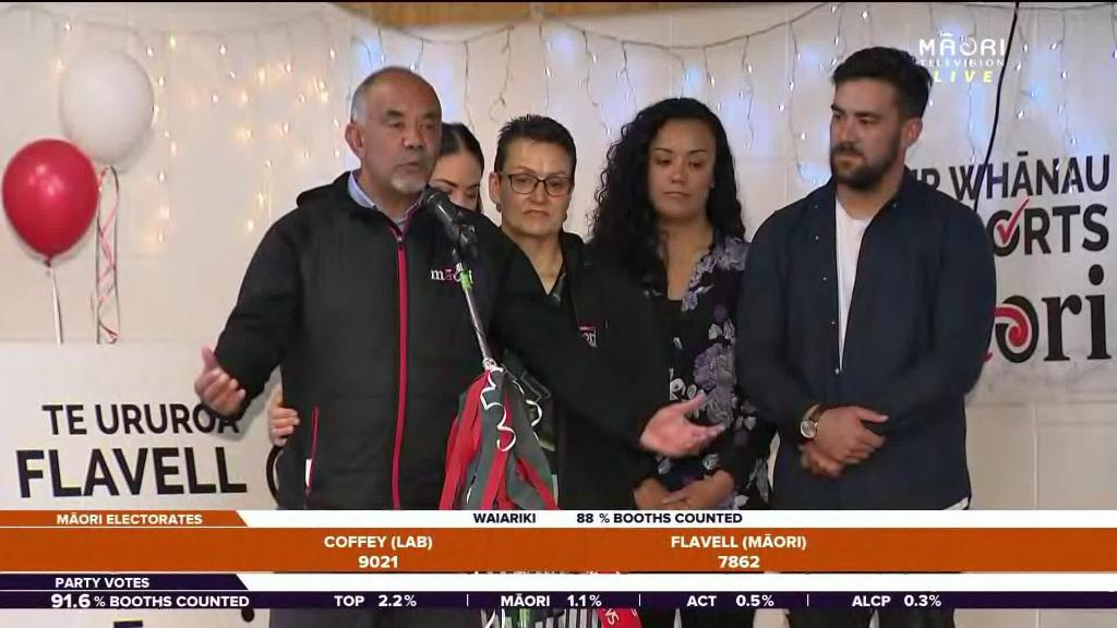 Video for Flavell fails to retain Waiariki seat