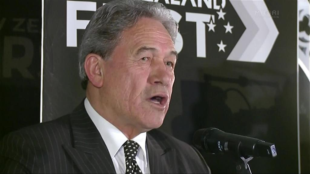 Video for E noho mū tonu a Winston Peters