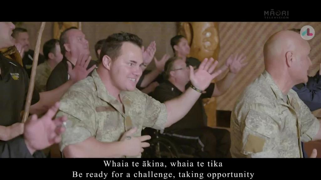 Video for NZDF compose new haka for Invictus