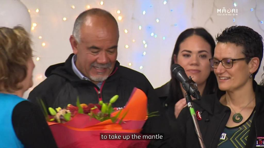 Video for Next generation throw support behind  Māori Party's return