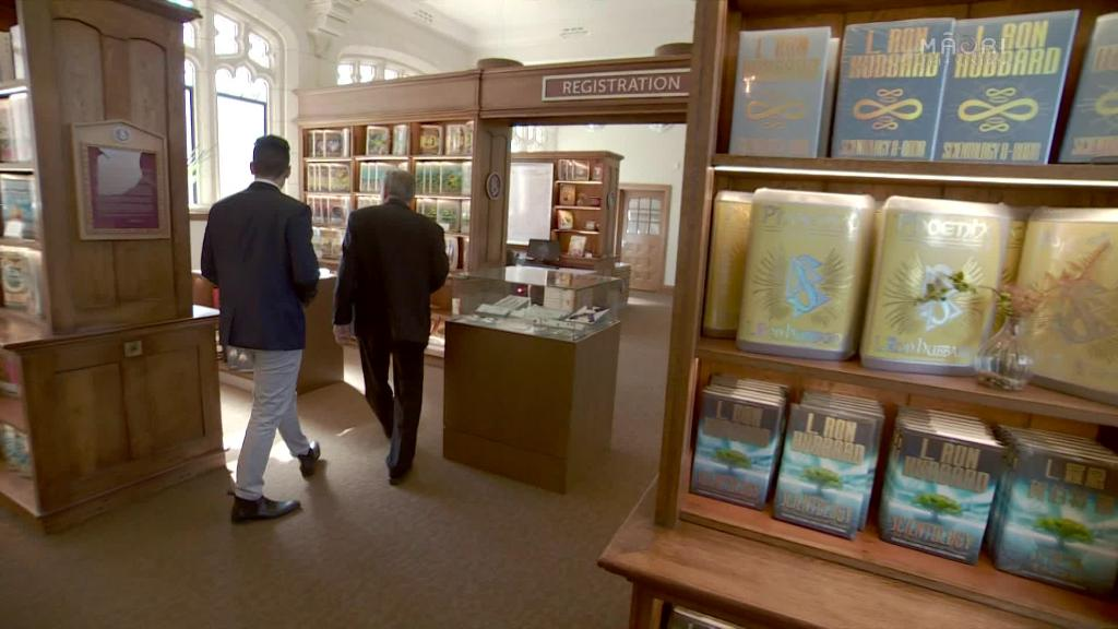 Video for Māori Wardens and the Church of Scientology