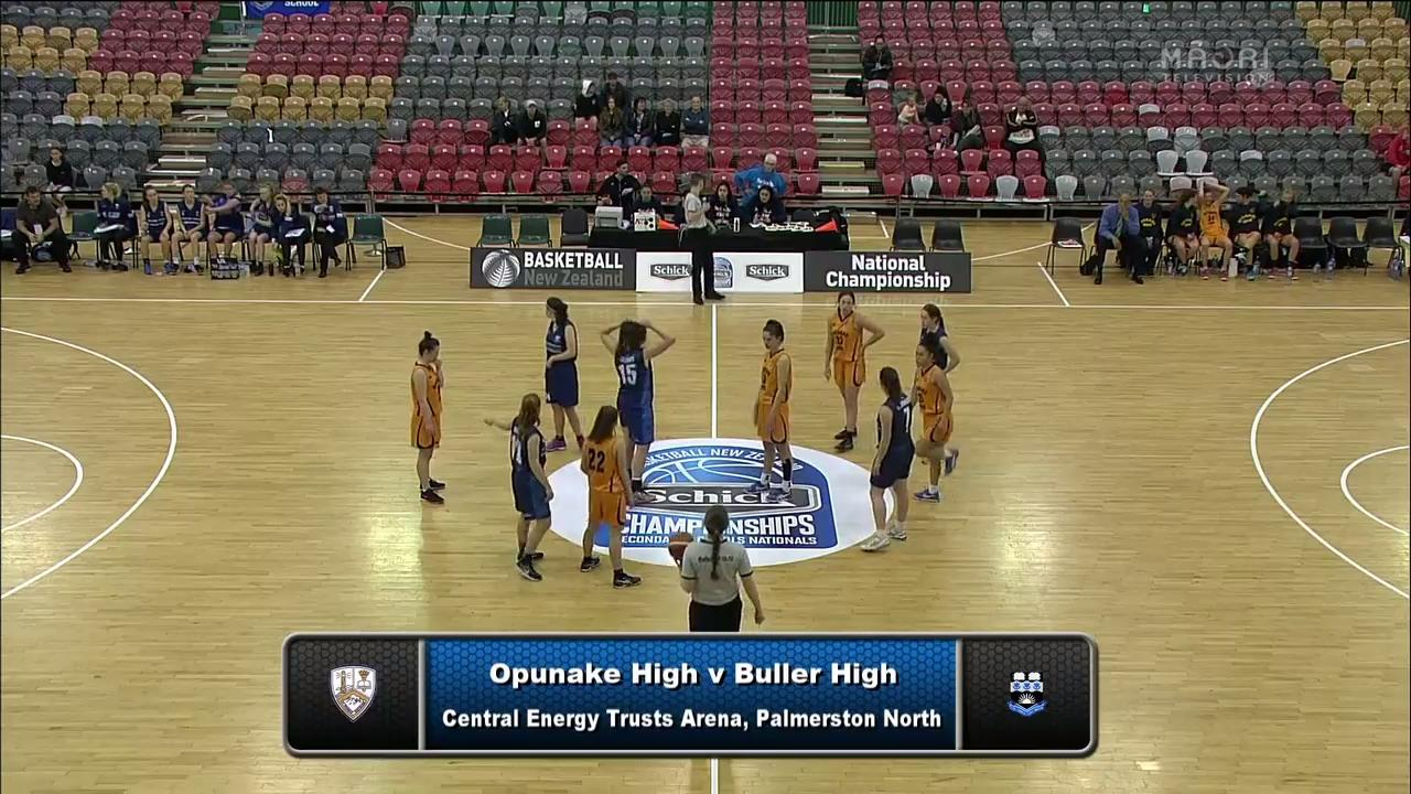 Video for Schick Basketball Champs 2017, Opunake v Buller