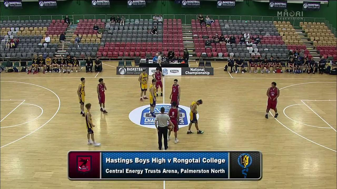 Video for Schick Basketball Champs 2017, Hastings Boys v Rongotai