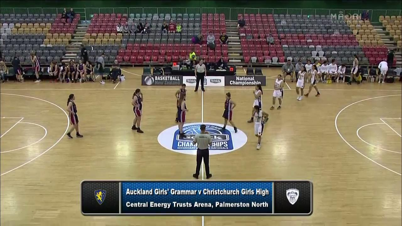 Video for Schick Basketball Champs 2017, Auckland Girls v Christchurch Girls