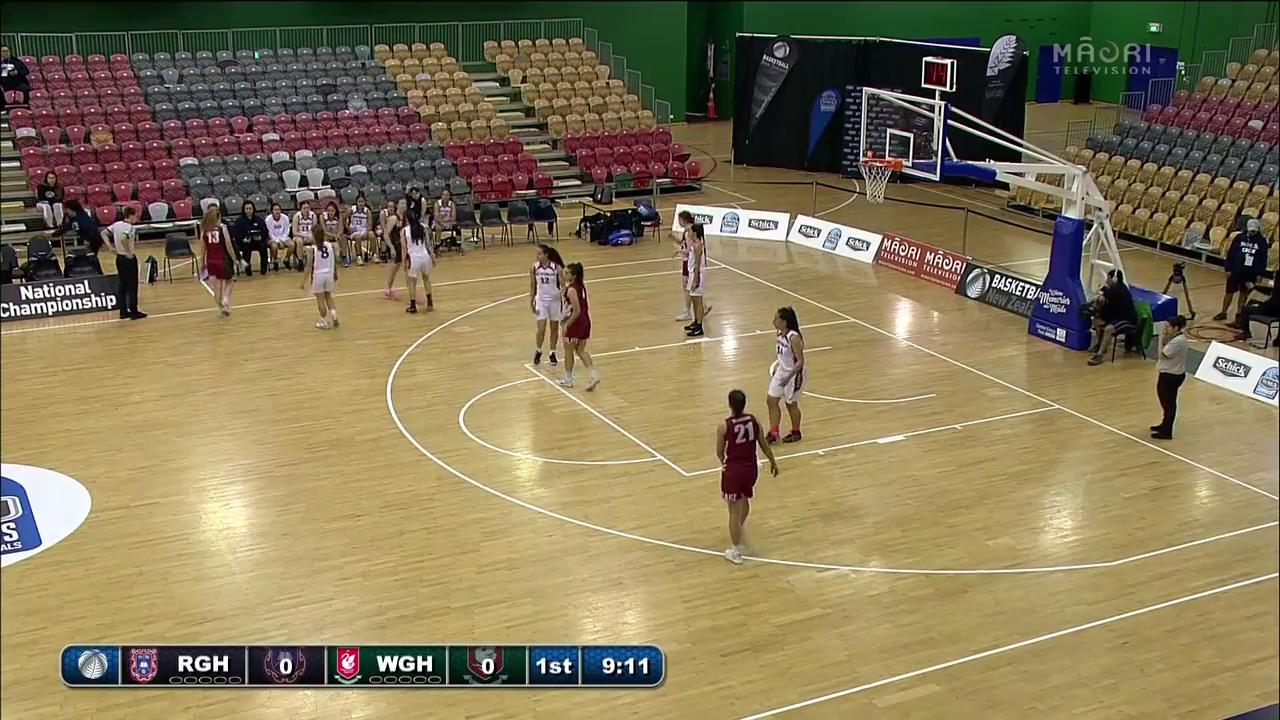 Video for Schick Basketball Champs 2017, Rotorua Girls v Westlake Girls