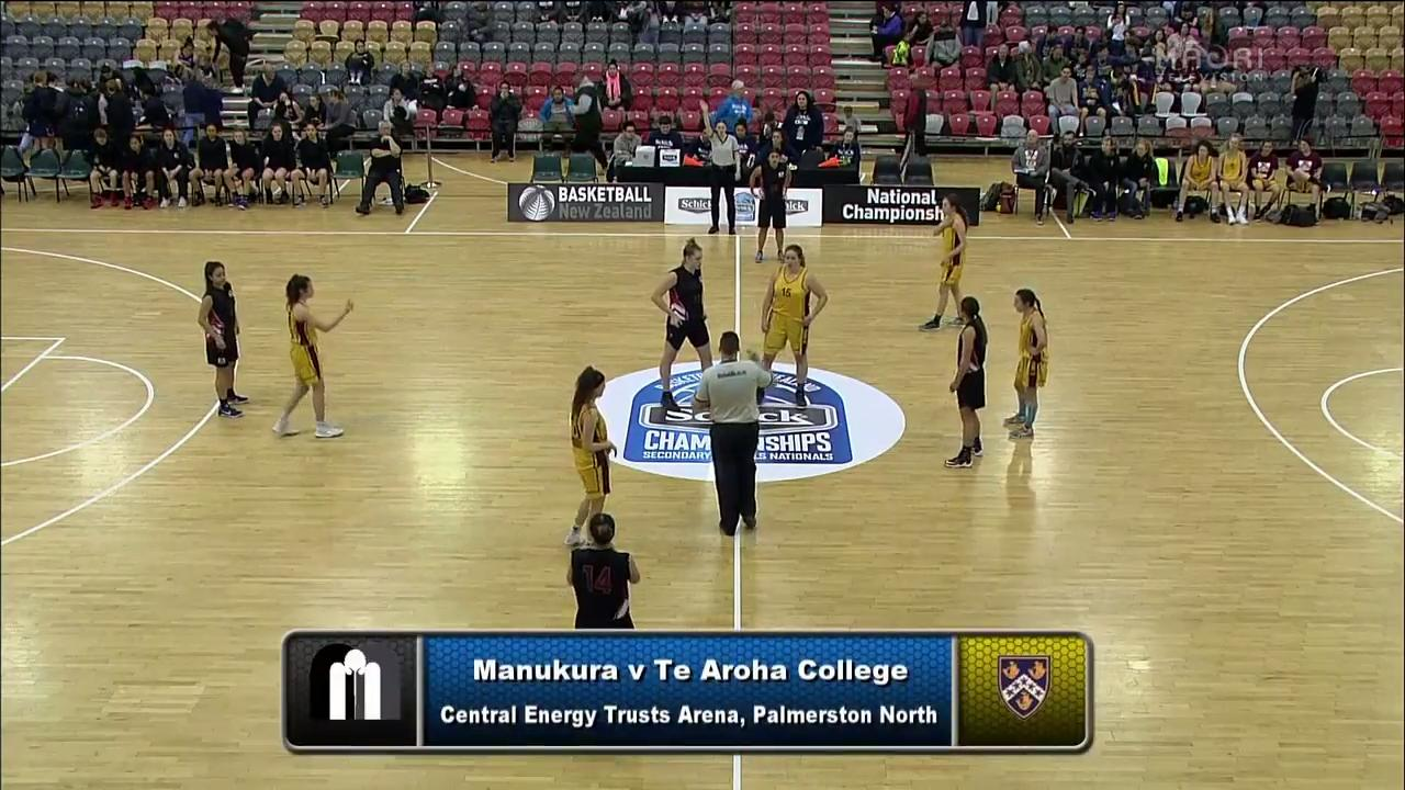 Video for Schick Basketball Champs 2017, Manukura v Te Aroha College
