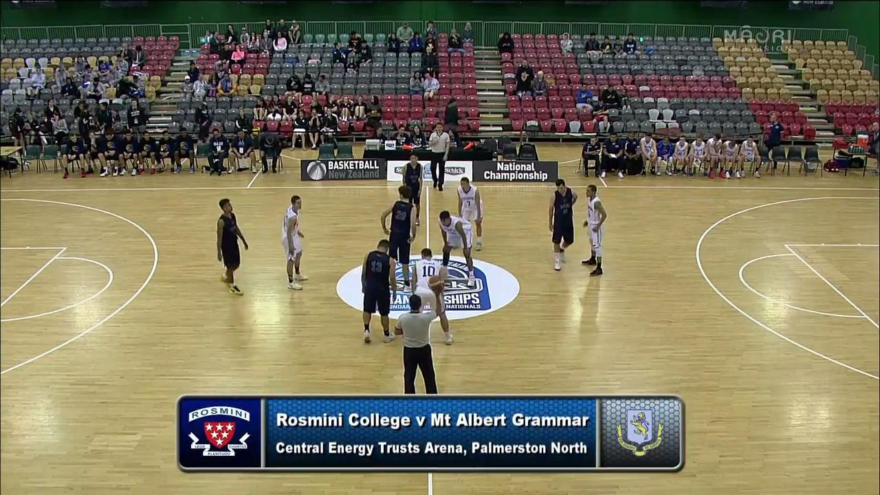 Video for Schick Basketball Champs 2017, Rosmini v Mt Albert Grammar