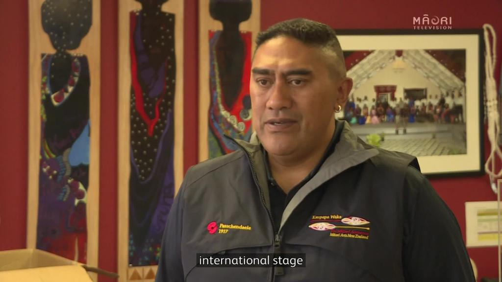 Video for Māori war canoe ready for Passchendaele commemorations