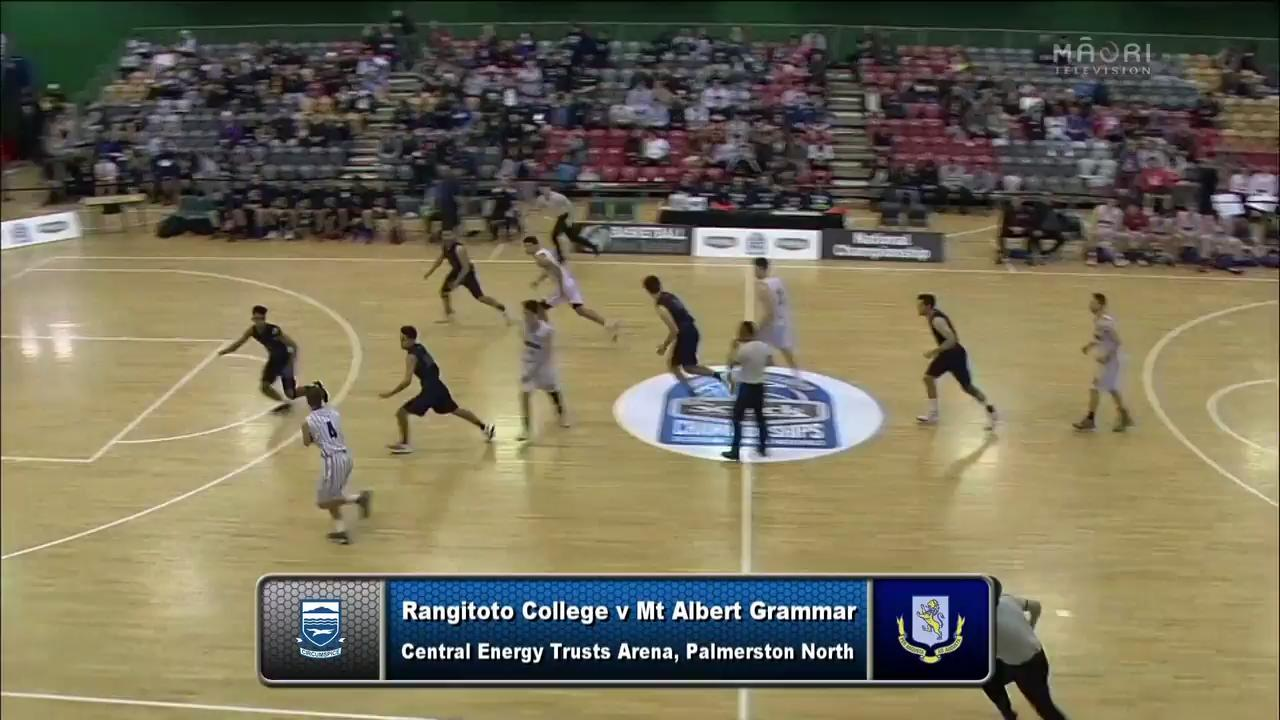 Video for Schick Basketball Champs 2017, Rangitoto v Mt Albert Grammar
