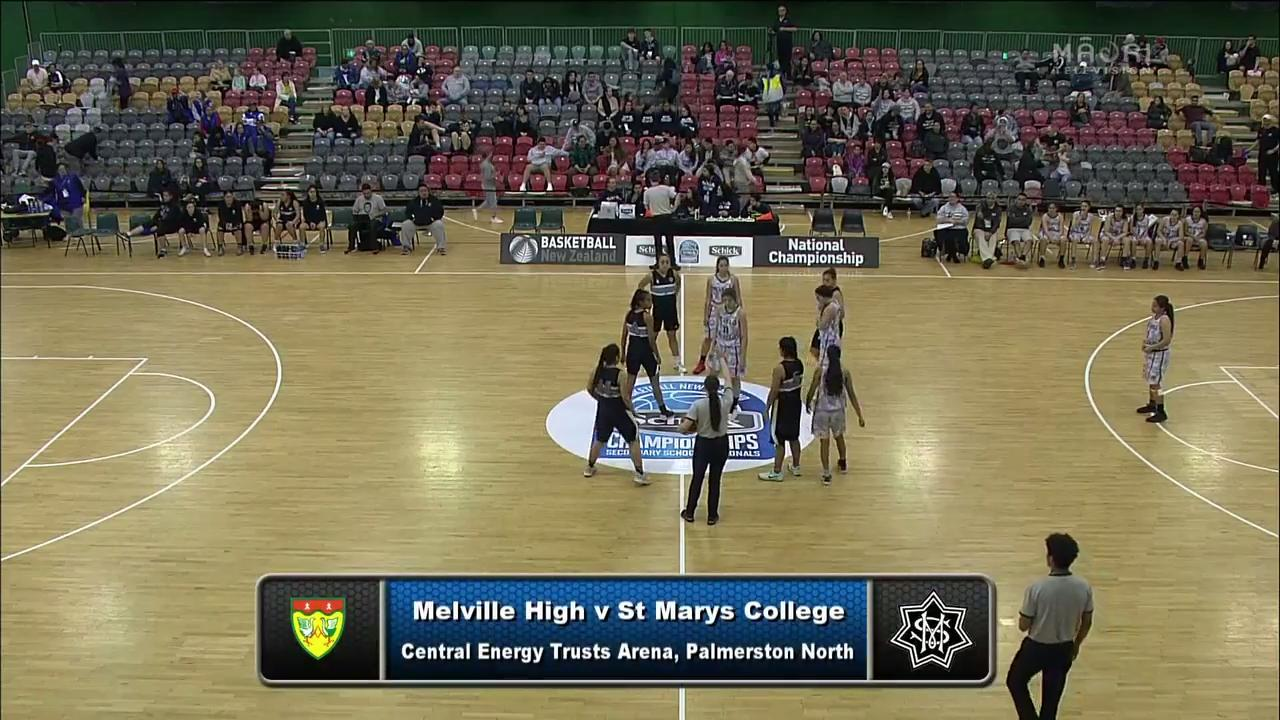 Video for Schick Basketball Champs 2017, Melville v St Marys