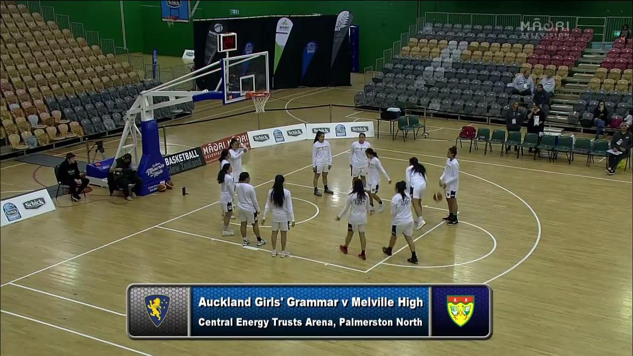 Video for Schick Basketball Champs 2017, Auckland Girls Grammar v Melville