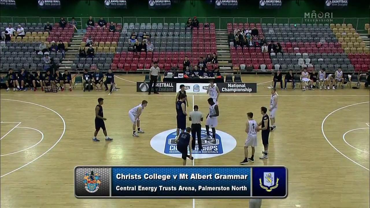 Video for Schick Basketball Champs 2017, Christs v Mt Albert Grammar