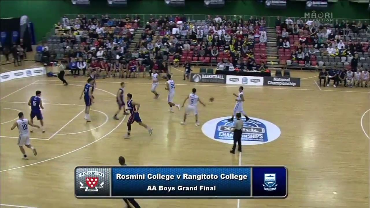 Video for Schick Basketball Champs 2017, Rosmini v Rangitoto
