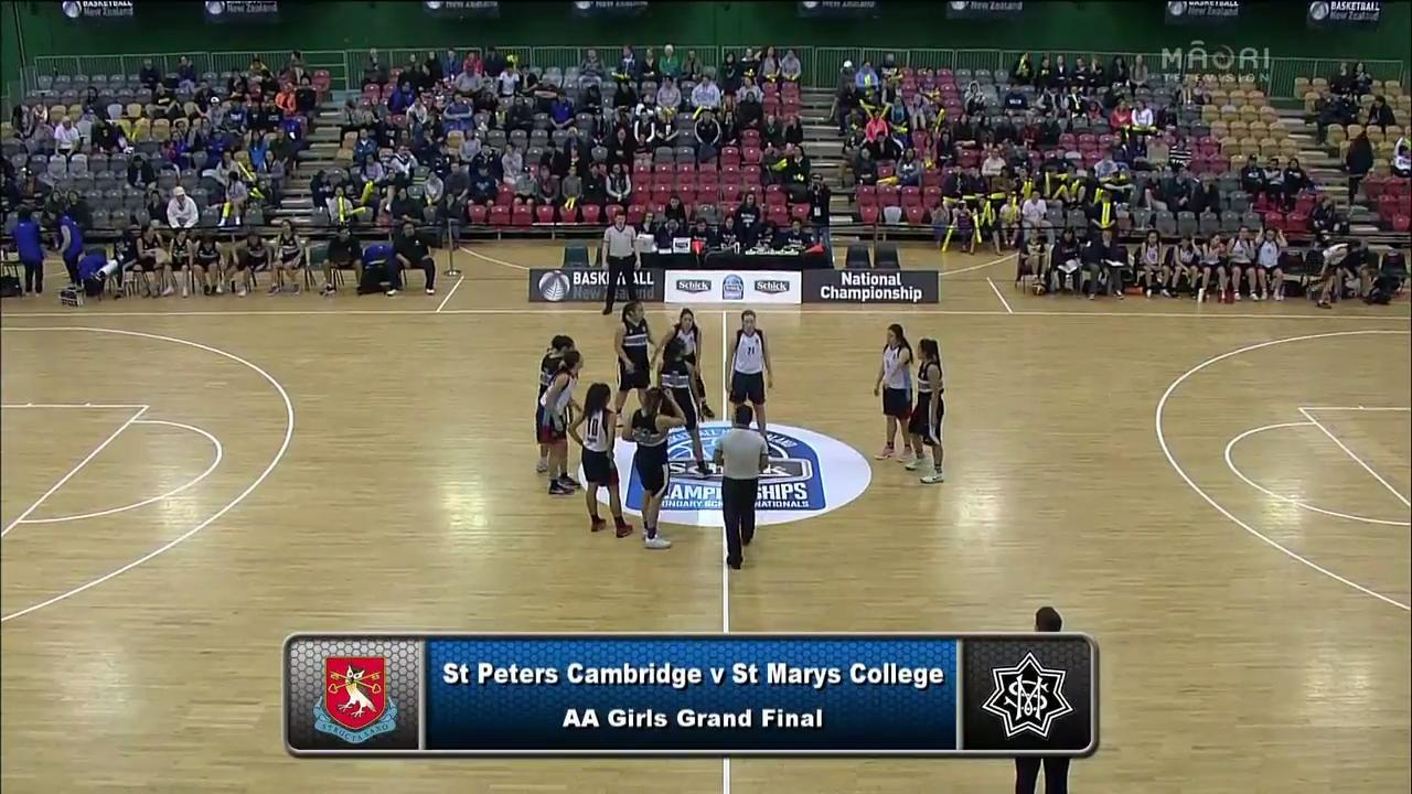 Video for Schick Basketball Champs 2017, St Peters Cambridge v St Marys Wellington