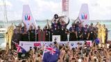Video for Team NZ share America's Cup with Edgecumbe community