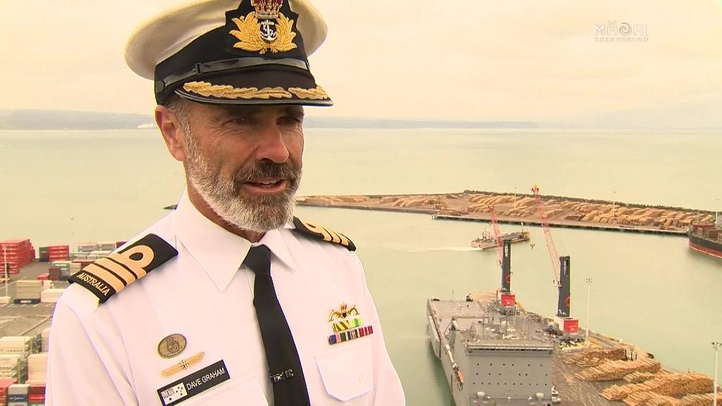 Video for New Zealand's biggest military exercise underway