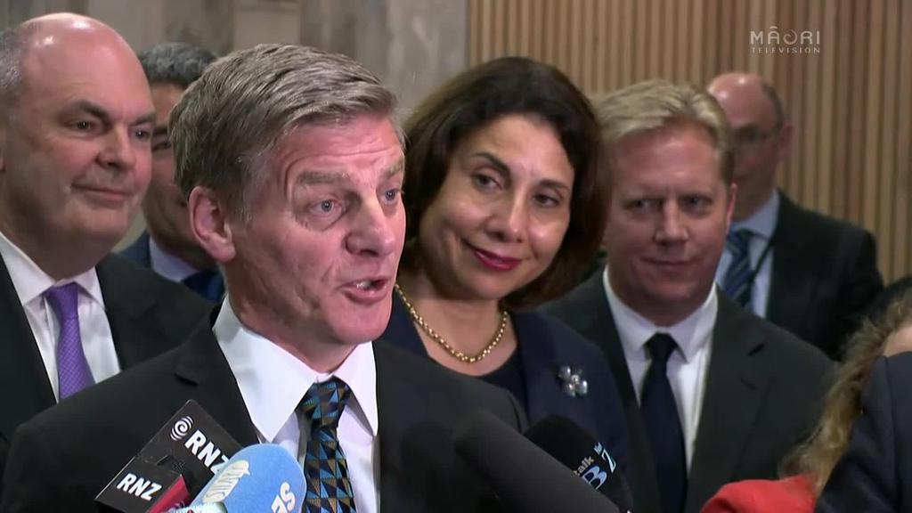 Video for Bill English bows out of government