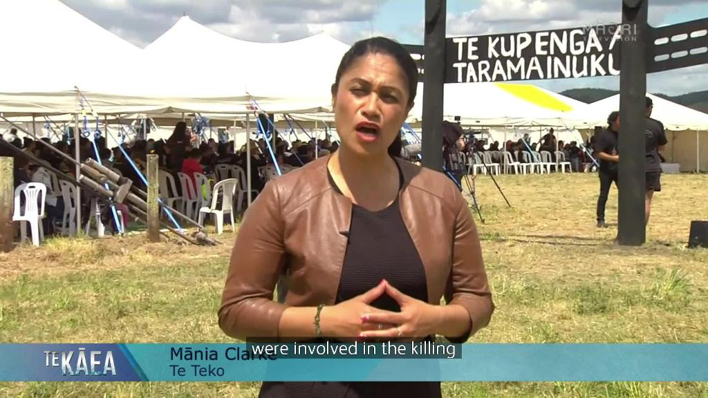 Video for Kiingitanga and iwi join Te Kupenga battle commemorations