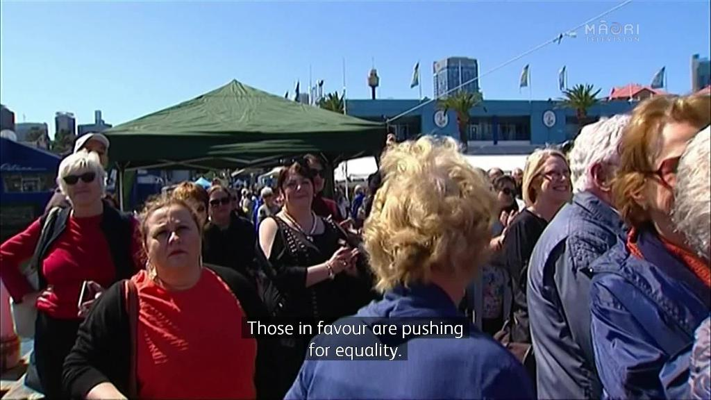 Video for Australians still divided over legalising same sex marriage