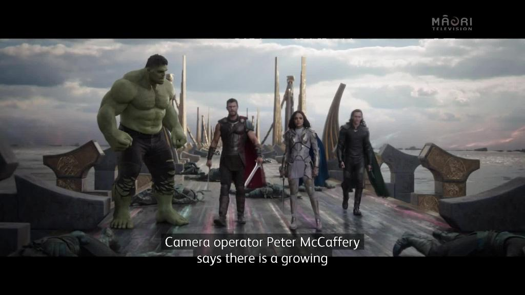 Video for Kiwis are taking over Hollywood with Thor:Ragnarok