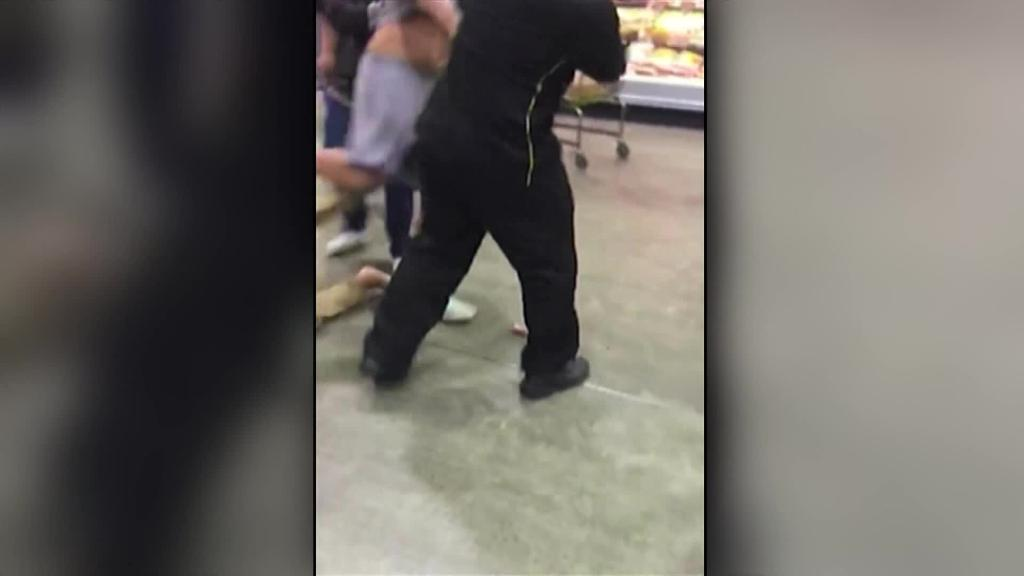 Video for Two more arrested after Pak'nSave brawl