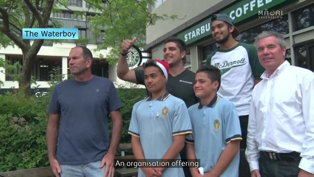 Video for Waterboy organisation aims to grow sports paticipation