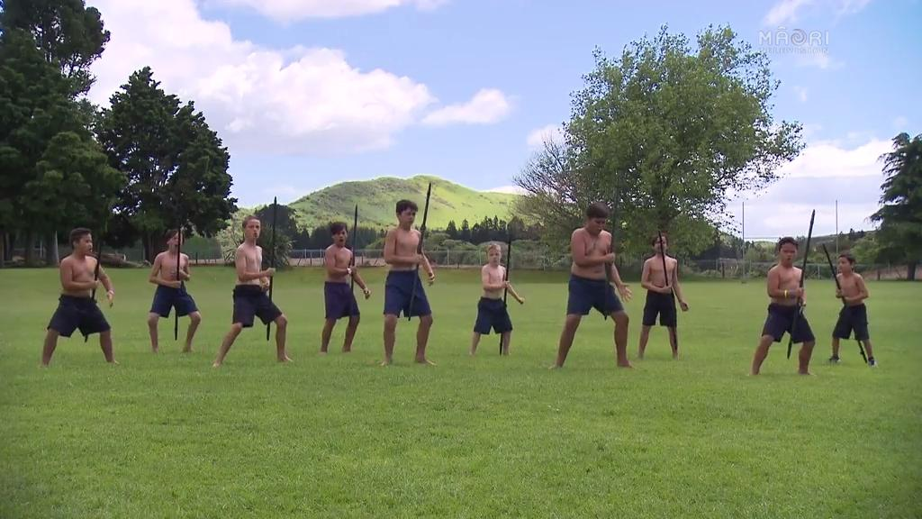 Video for Native Affairs - Māori Warrior Lessons
