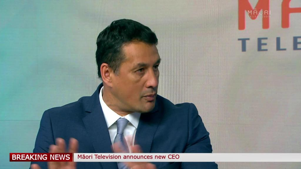 Video for Keith Ikin appointed as CEO of Māori Television
