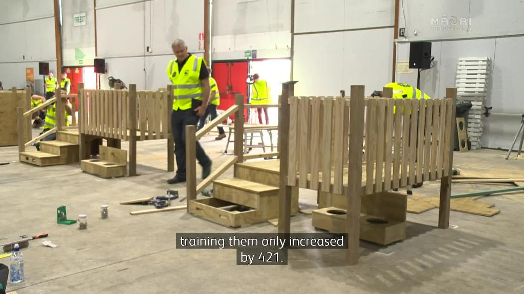 Video for Lack of work for carpentry apprentices