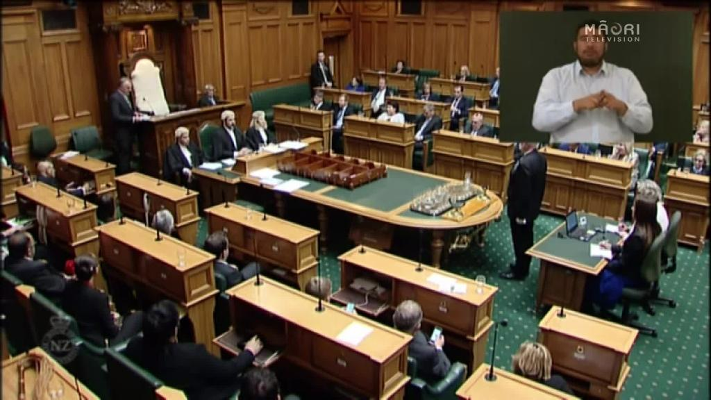 Video for Parliament opens: Trevor Mallard new Speaker of the House